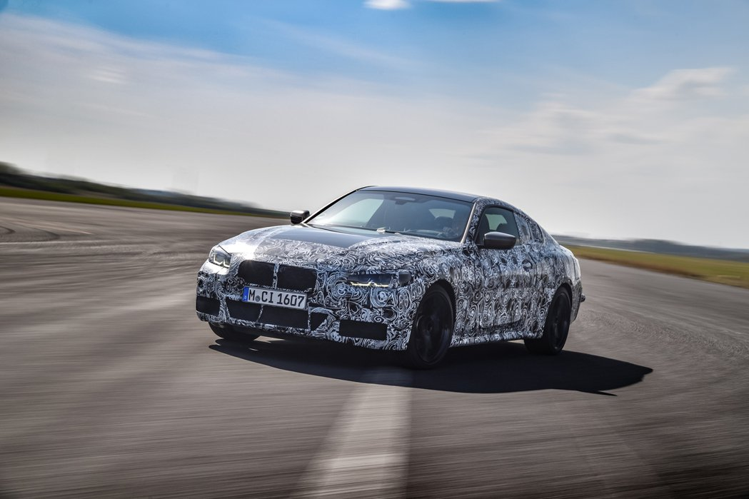 第二代BMW 4 Series Coupe另一個重點就是屆時發表後,實際長相是否...
