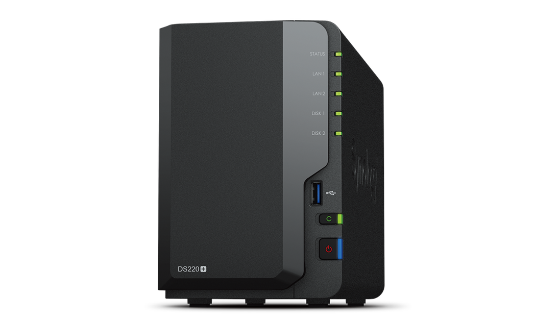 Synology DS220+為一款輕巧的網路連接儲存解決方案,專為簡化檔案與多...