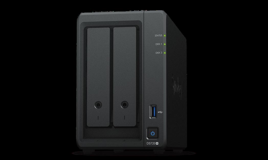 Synology DS720+為一款輕巧的網路連接儲存解決方案,簡化資料及多媒體...