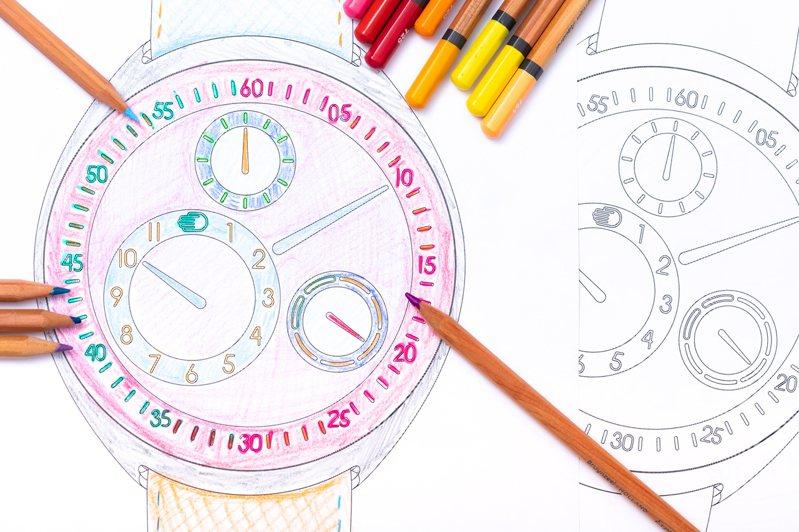 蘇富比與比利時獨立表品牌Ressence合作腕表設計慈善拍賣。圖/蘇富比提供