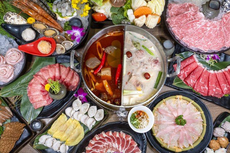 問鼎西門店推出吃到飽888的優惠方案。圖/馬辣提供