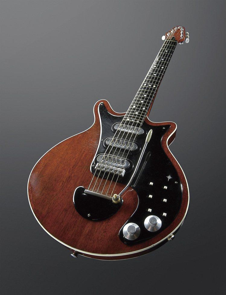 著名的Red Special便是Brian May純手工打造而成的電吉他。圖/S...