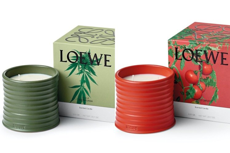 LOEWE將推出香氛蠟燭,最受矚目的是大麻味。圖/摘自jonathan.ande...