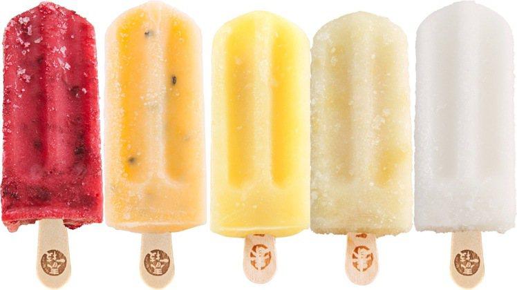 在IKEA瑞典食品超市,推出5款台灣水果枝仔冰,每支售價39元。