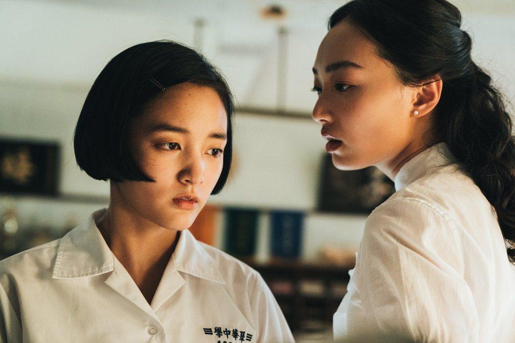蔡思韵(右)在台灣因「返校」電影飾演殷老師受人矚目。圖/牽猴子提供