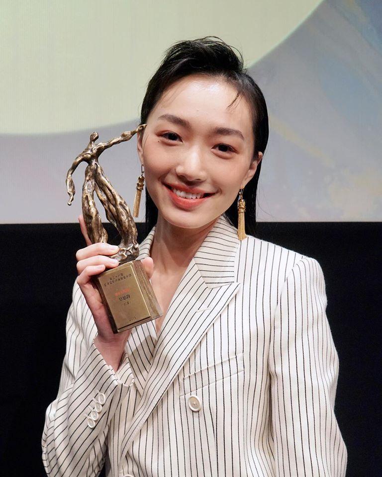 蔡思韵憑「幻愛」獲得香港電影評論學會最佳女演員殊榮。圖/摘自蔡思韵臉書