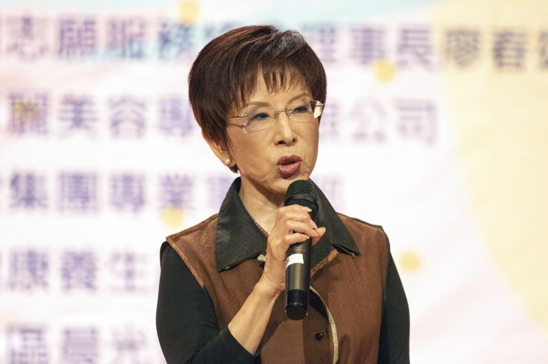 國民黨前主席洪秀柱。圖/聯合報系資料照片