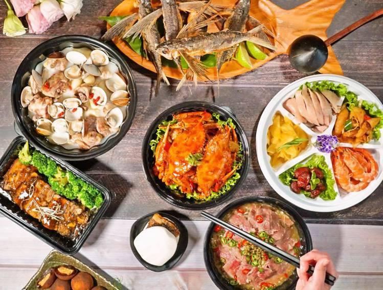 芭達桑原住民主題餐廳推出母親節外帶套餐,每套2999元。圖/芭達桑原住民主題餐廳...