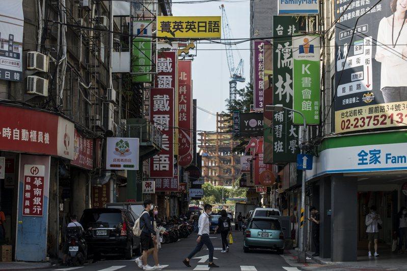 日本女生來台半年,覺得台灣的市容和交通相當亂。本報系資料照/記者趙宥寧攝影
