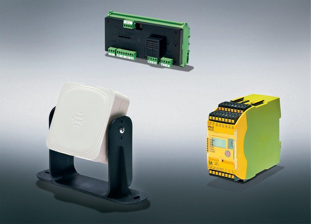 全球首創的LBK安全雷達系統適用於重工業環境。 皮爾磁Pilz/提供