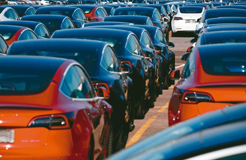 綠能車前景看俏。 法新社