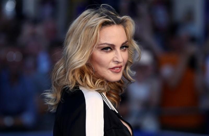 瑪丹娜一向敢說敢做,充滿霸氣。圖/路透資料照片
