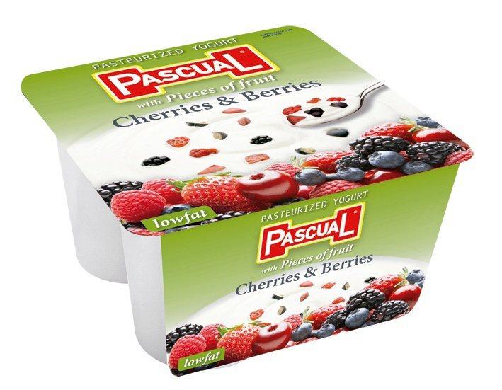 西班牙PASCUAL綜合莓果較低脂優格原價150元,第二件0元。圖/city's...