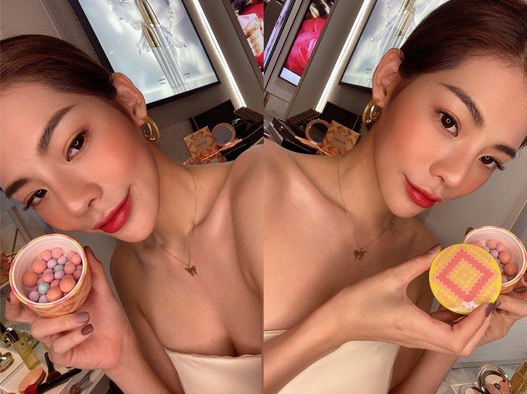 嬌蘭幻彩流星蜜粉球 迷情里約限量版/2,580元。記者劉小川/攝影
