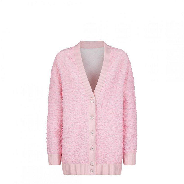 FENDI粉色設計外套,56,000元。圖/FENDI提供
