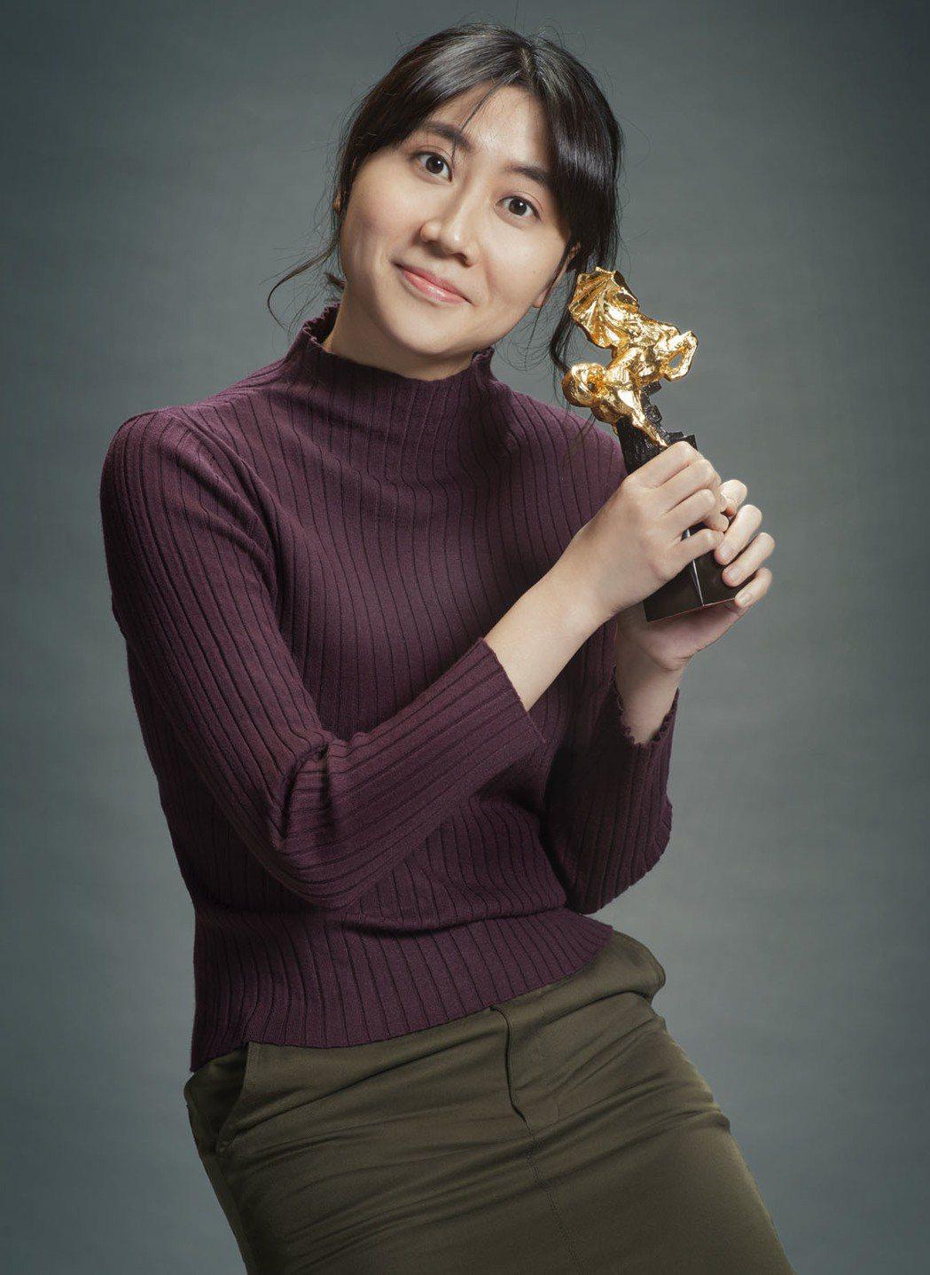 黃綺琳去年以「金都」提名金馬獎最佳新導演。圖/金馬執委會提供