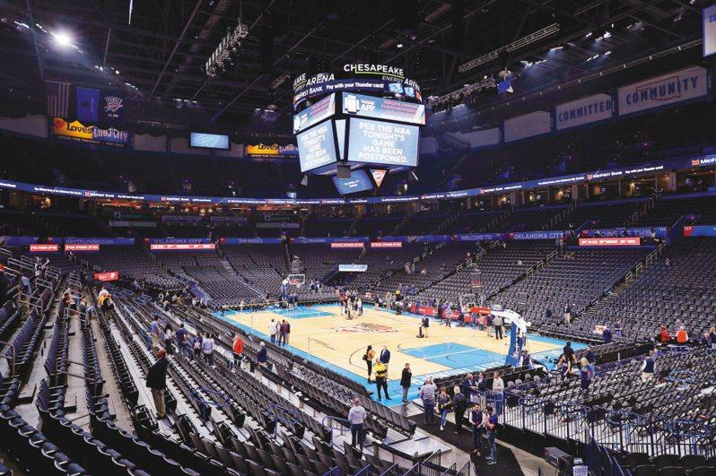 NBA聯盟建議各隊若陣中隊職員沒有症狀,無須安排新冠肺炎篩檢。 路透