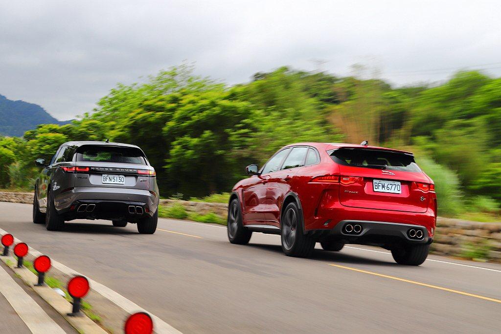 兩車不僅搭載相同動力系統,輸出調校方面也都是550ps最大馬力與69.4kgm峰...
