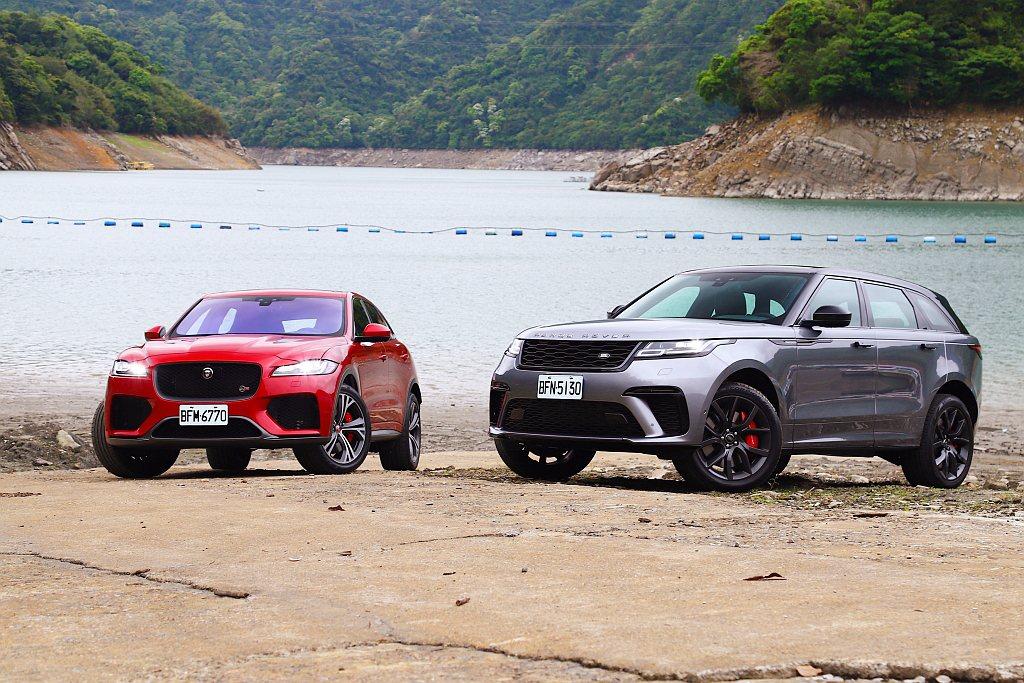 細部相異設定造就Jaguar F-Pace SVR、Land Rover Ran...