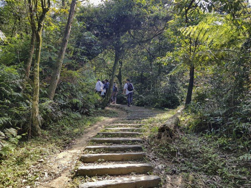 基隆姜子寮山有好漢坡,登頂360度超廣視野可看台北101。圖/基隆市政府提供