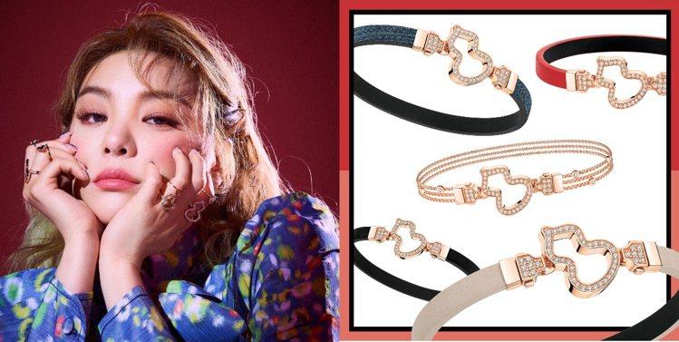 「鐵肺女王」Ailee李藝真近日除確定演出真人秀,還配戴幾何珠寶為時尚雜誌拍攝時...