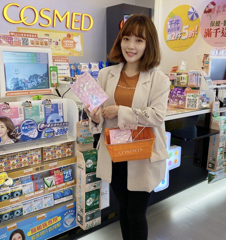 康是美「最愛女人節」活動即日起至5月12日推出近200組限量超值禮盒。圖/康是美...