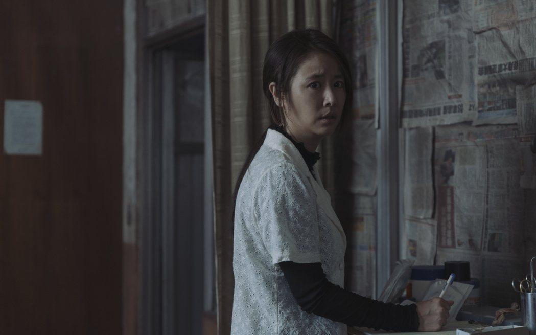 林心如在「誰是被害者」中飾演一名外籍移工。圖/Netflix提供