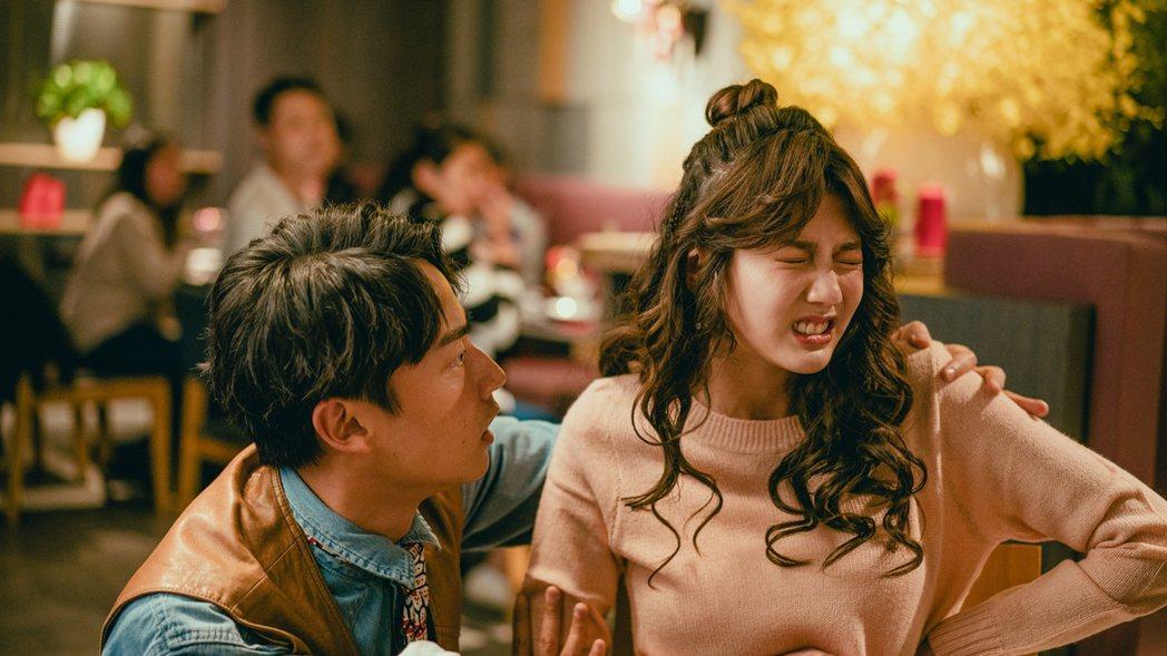 四葉草首次演出電視劇,就挑戰未婚懷孕戲。圖/華視提供