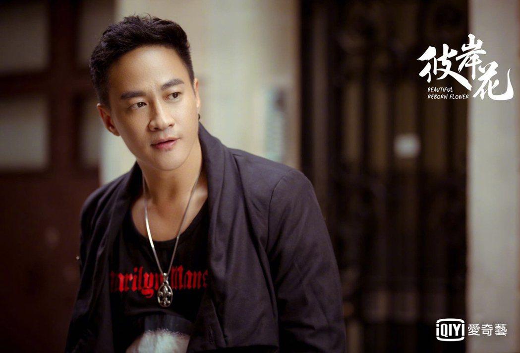 何潤東在「彼岸花」戲中飾演桀驁不馴的富二代漢森。圖/愛奇藝台灣站提供
