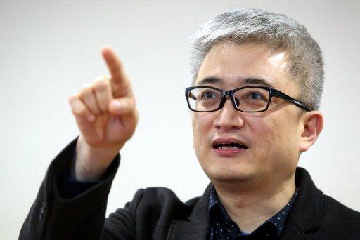 杜奕瑾表示政府應努力讓在國外工作的人才願意回台灣。記者林俊良/攝影