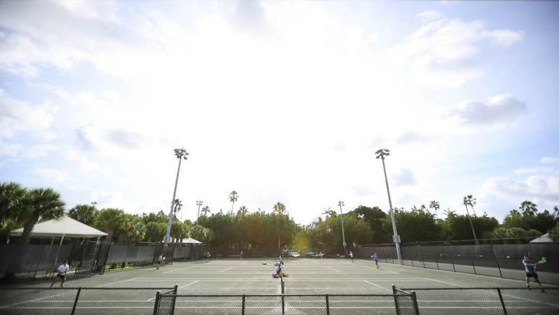 佛州計劃閉門辦網球比賽。 法新社