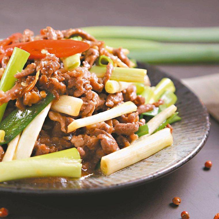 蔥爆羊肉 圖/陳怡樺提供