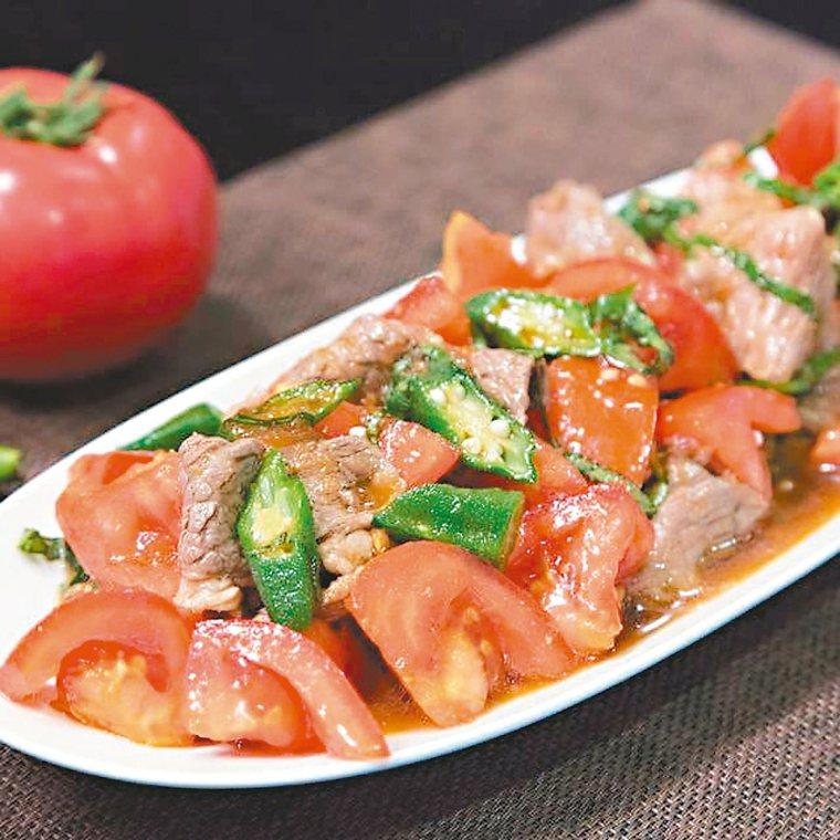 番茄牛肉溫沙拉 圖/陳怡樺提供
