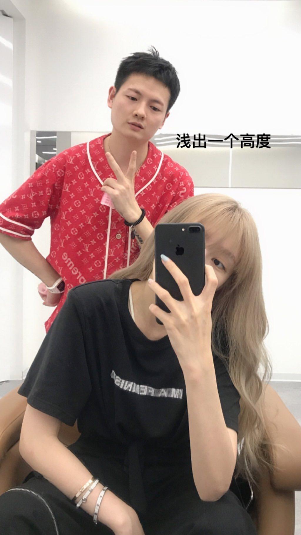 周揚青更新IG曝近況,染了新髮色。 圖/擷自周揚青IG