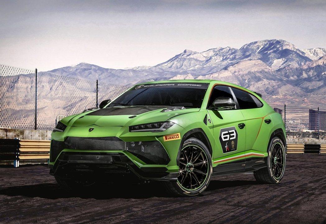 Lamborghini Urus ST-X Concept。 摘自Lamborg...