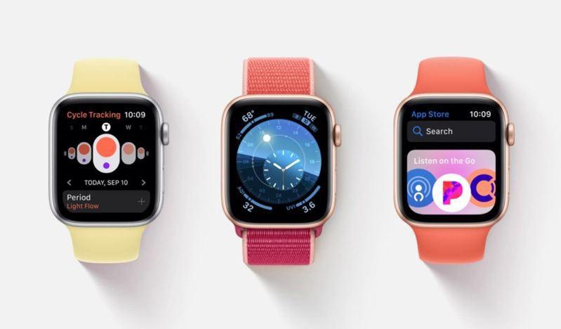 WatchOS不斷提供健康追蹤功能,或有機會預防精神異常爆發。圖/Apple