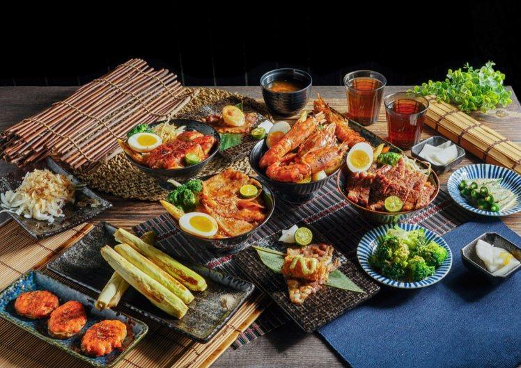 大河屋提供一系列日式料理。圖/米塔集團提供