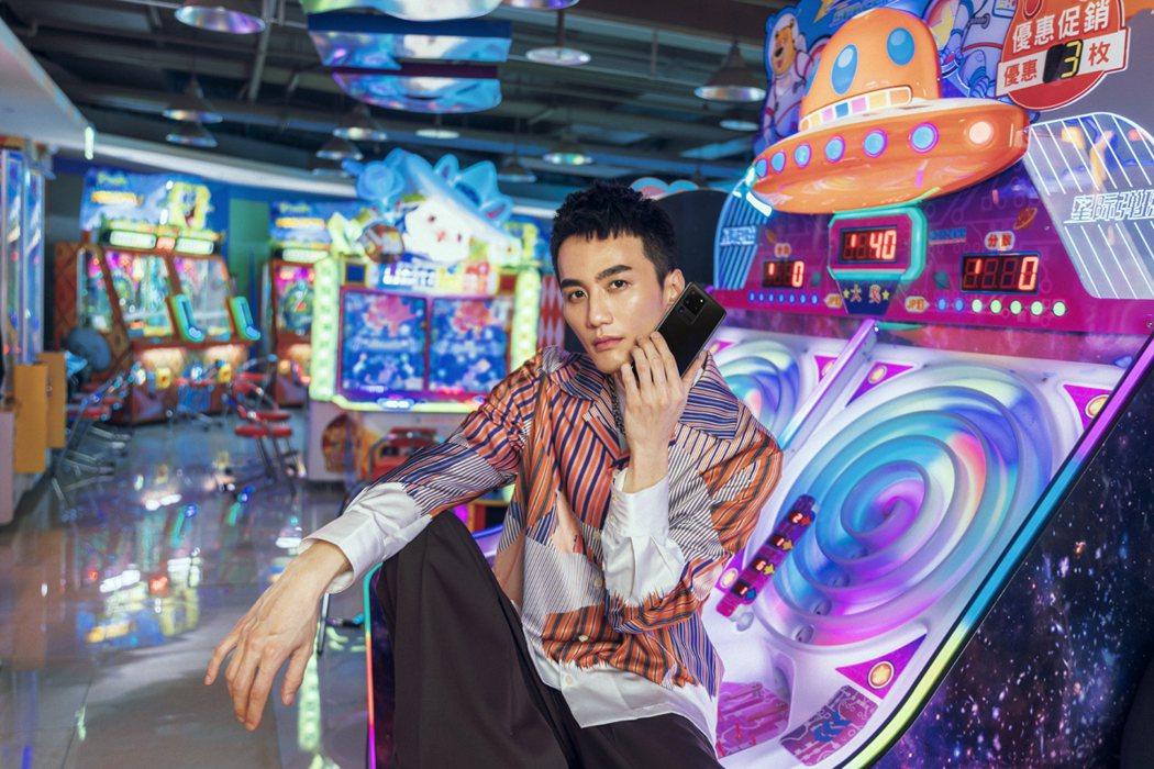 李英宏應邀替三星創作廣告曲。圖/台灣三星提供