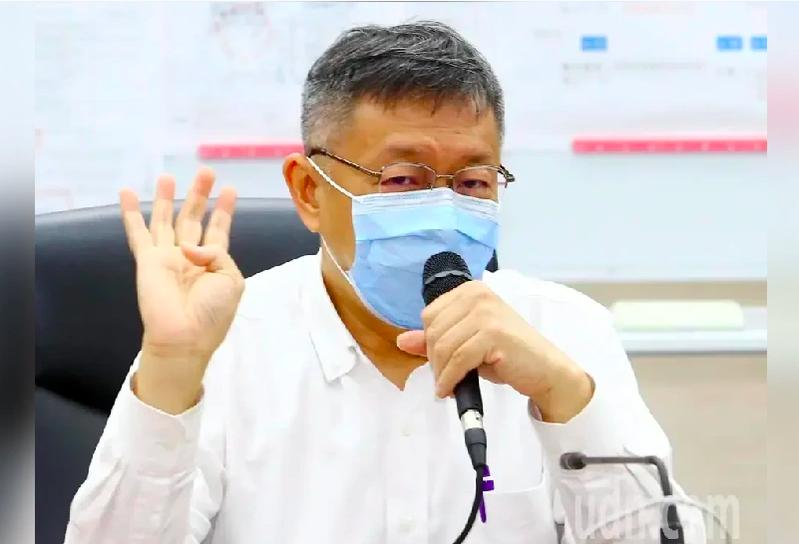 台北市長柯文哲。 圖/聯合報系資料照片