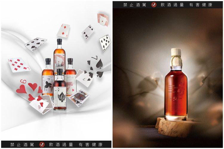 日本威士忌近年來在拍賣會上表現強勁。圖/邦瀚斯與羅芙奧提供