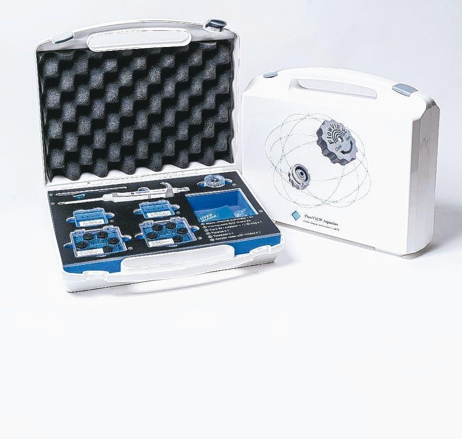 Aquarius Starter kit可進行臨場液態材料觀測。 邑流微測/提供