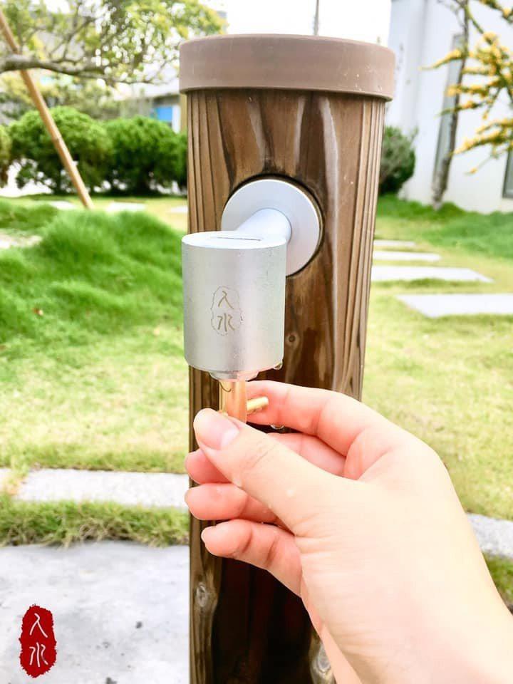 戶外安裝人水防疫水栓。       良品衛浴/提供