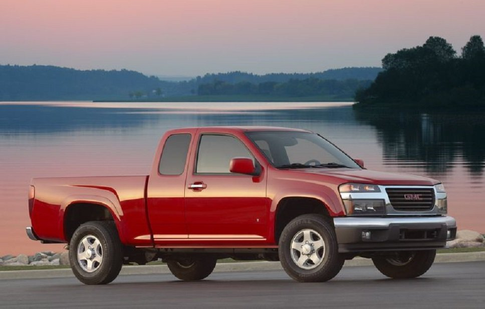 GMC Canyon Regular Cab。 摘自GMC