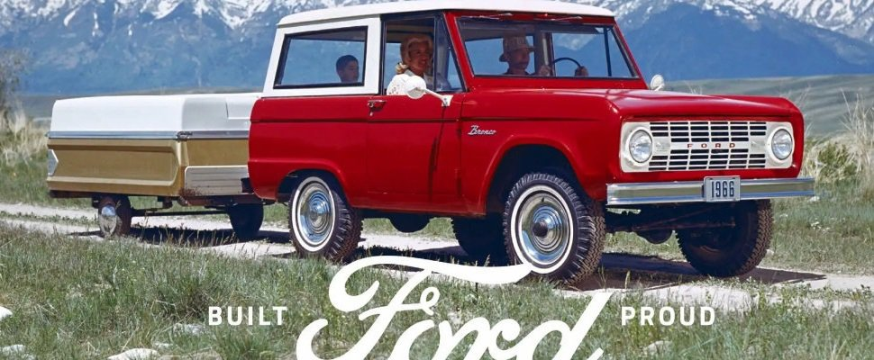 Ford Bronco。 摘自Ford