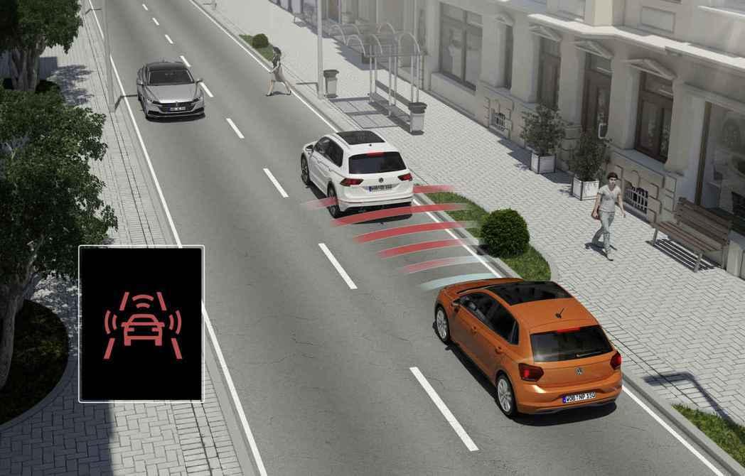 The Polo GTI搭載IQ.DRIVE智能駕駛輔助系統,以360度徹底防護...
