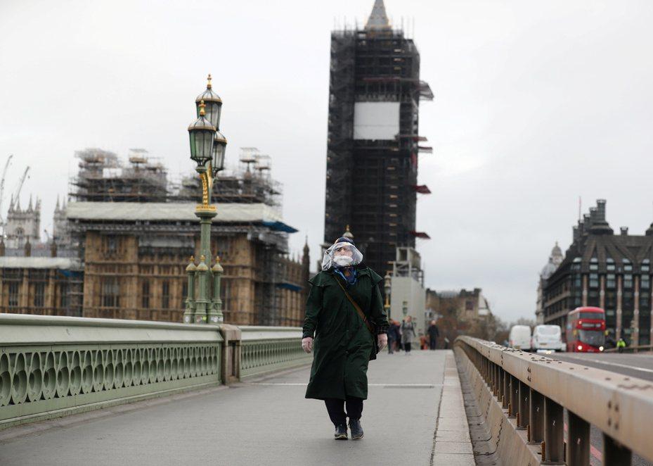 英國每日電訊報報導,英國高層早就知道大陸隱瞞疫情嚴重性。(路透)