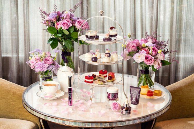 文華東方攜手Sisley共同推出期間限定頂級下午茶。(圖/台北文華東方酒店提供)