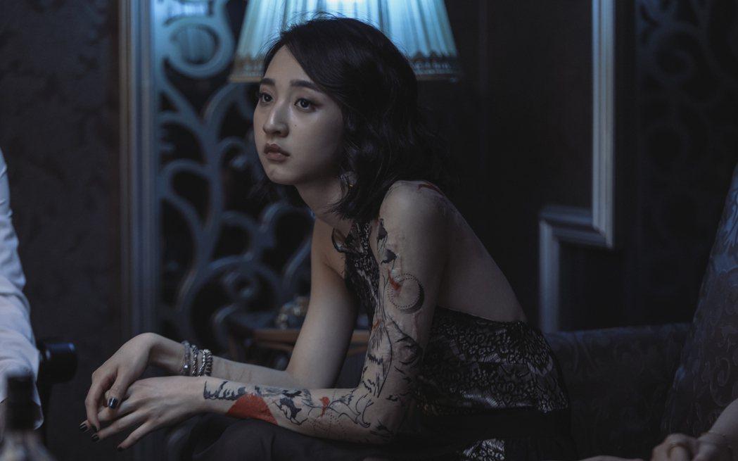 李沐在「誰是被害者」中飾演張孝全的女兒。圖/Netflix提供