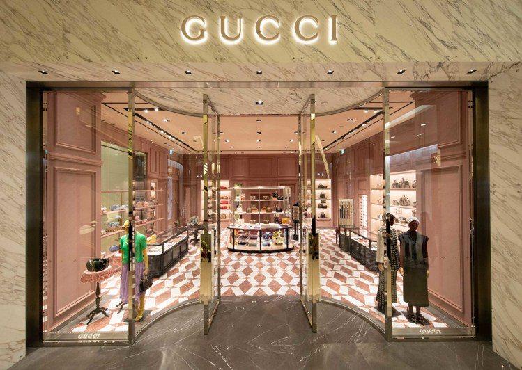GUCCI進駐台北SOGO百貨復興館,由創意總監Alessandro Miche...
