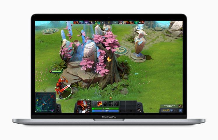 13 吋MacBook Pro配備最新的第 10 代處理器,繪圖處理效能提升最高...